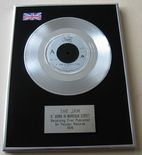 "JAM - ""A"" BOMB IN WARDOUR STREET PLATINUM Single Presentation Disc"